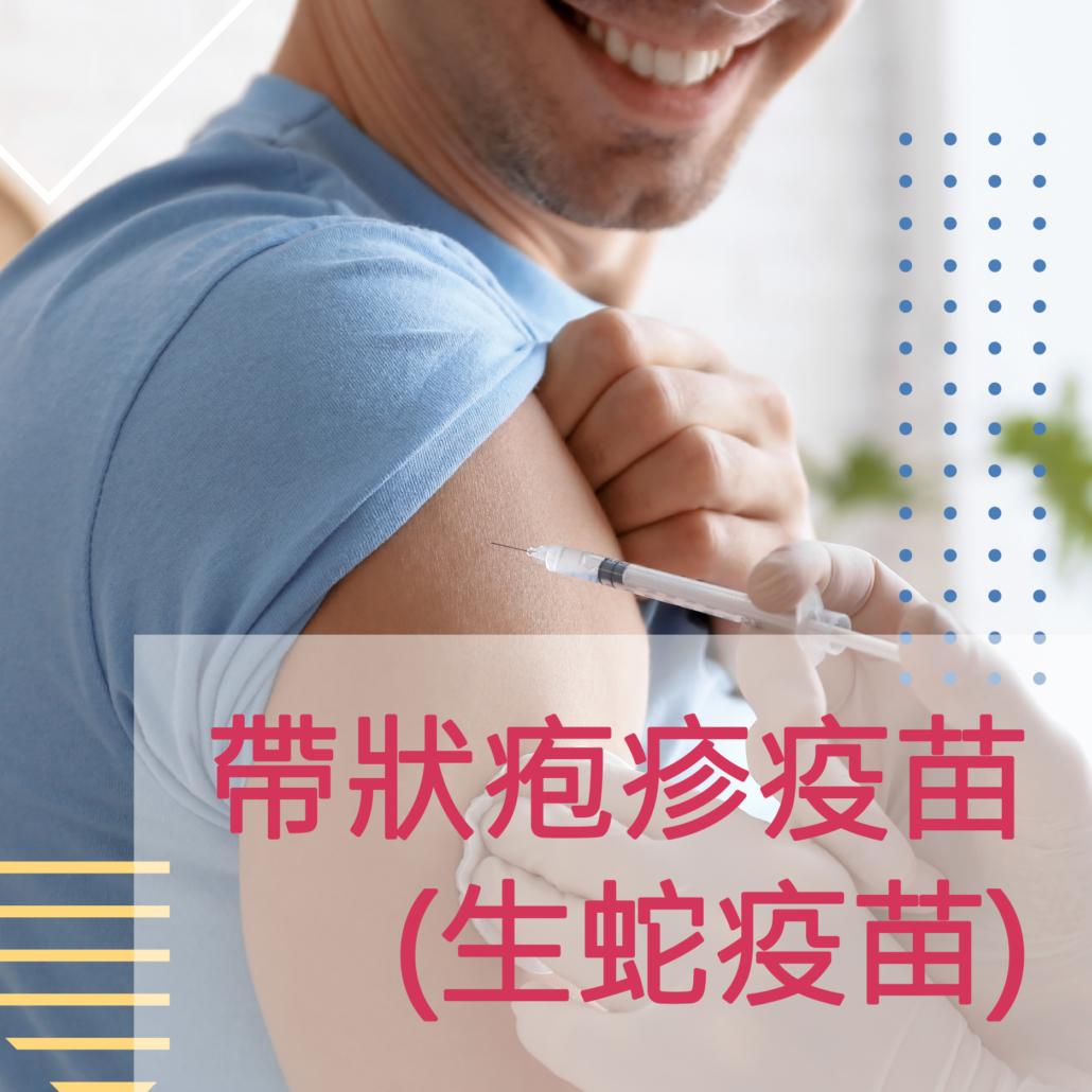 帶狀疱疹(生蛇)疫苗